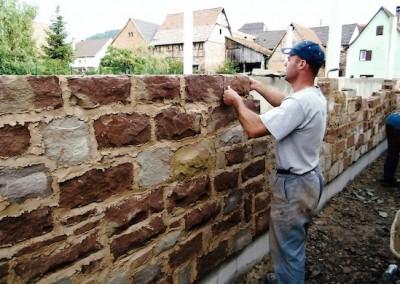 montage mur Griess Schuster